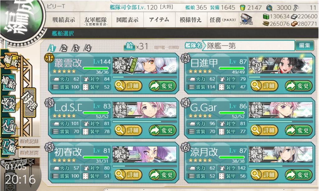 艦これSS20200105